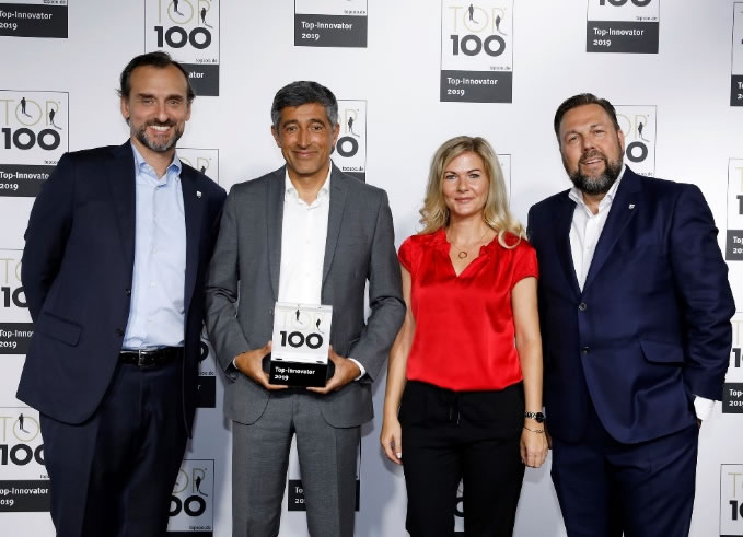 Nespoli Deuschland - TOP 100 2019 award for innovative companies